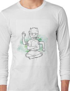 Green Oni Long Sleeve T-Shirt