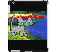 Cat Enjoys The Garden iPad Case/Skin
