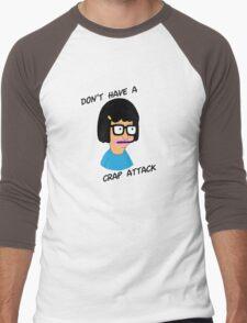 Tina Belcher: Don't Have a Crap Attack Men's Baseball ¾ T-Shirt