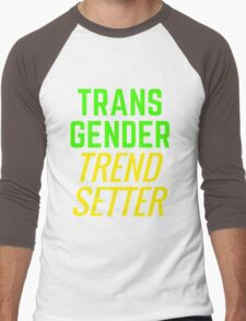 Transgender Trendsetter Men's Baseball ¾ T-Shirt