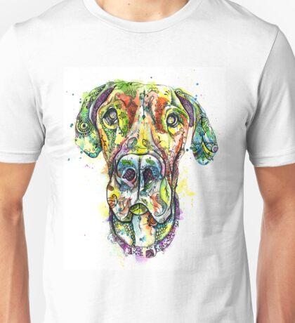 Great Dane Rose Unisex T-Shirt