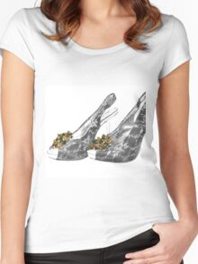 Wearing My Sexy Girls Today! Women's Fitted Scoop T-Shirt