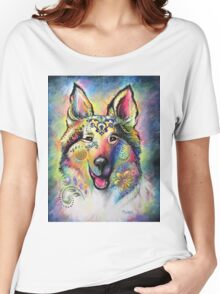 Boho Collie Women's Relaxed Fit T-Shirt
