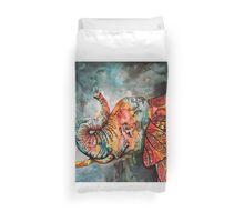 Circus Elephant  Duvet Cover