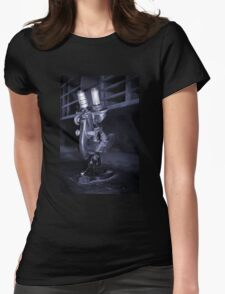 Old Microscope Womens Fitted T-Shirt