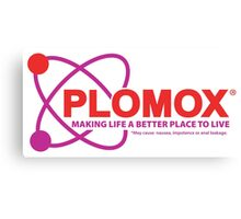"""Plomox"" Antiarrhythmic Medication Logo - As seen on ""Scrubs"" Canvas Print"