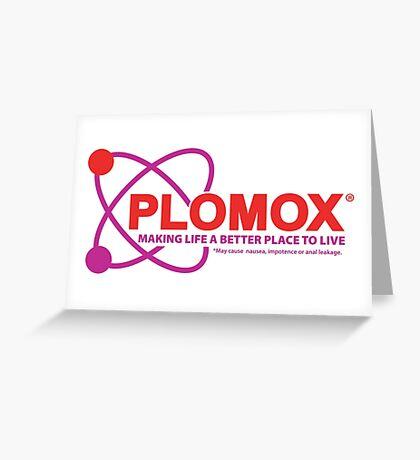 """Plomox"" Antiarrhythmic Medication Logo - As seen on ""Scrubs"" Greeting Card"