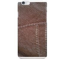 Black knit detail iPhone Case/Skin