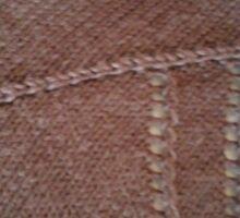 Black knit detail Sticker