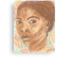 Cuban woman Canvas Print
