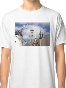 Unusual View of Windmill at Lytham St. Annes - England Classic T-Shirt