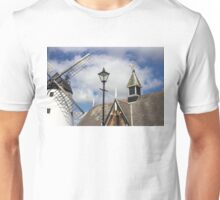 Unusual View of Windmill at Lytham St. Annes - England Unisex T-Shirt