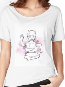 Purple Oni Women's Relaxed Fit T-Shirt