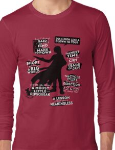 Edward Elric Quotes Long Sleeve T-Shirt