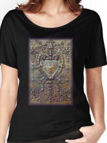 Copper Flourish Women's Relaxed Fit T-Shirt