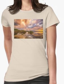 Lake OF Dreams Womens Fitted T-Shirt