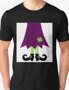 Vector - Stylized retro Witch legs Unisex T-Shirt
