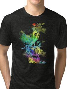 a key to hapiness Tri-blend T-Shirt