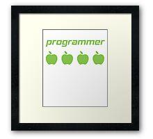 Programmer 8 Framed Print