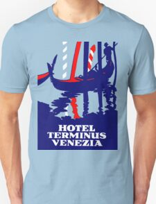 Antique Advertisement - Hotel Terminus, Venice Unisex T-Shirt