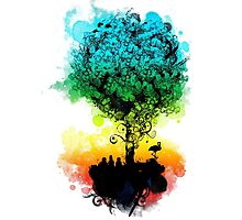 magical tree Photographic Print