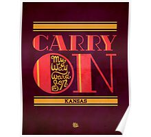 Kansas Carry On My Wayward Son Poster