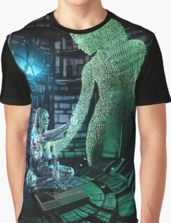 Cyberpunk Painting 073 Graphic T-Shirt