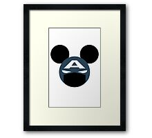 > captain mouse Framed Print