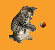 kitty cat playing ball Unisex T-Shirt