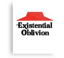 Existential Oblivion T-Shirt Canvas Print