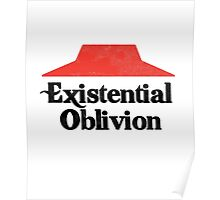 Existential Oblivion T-Shirt Poster