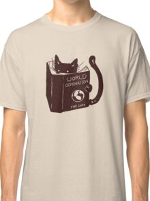 World Domination For Cats Classic T-Shirt