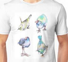 New Zealand Birds Unisex T-Shirt