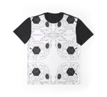 Hackers Skull Graphic T-Shirt