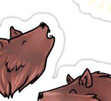 Lil howls Sticker