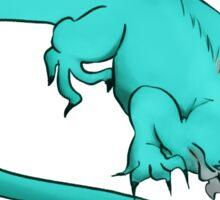 Axanthic Iguana Sticker