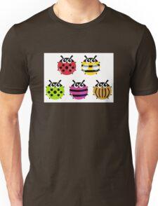 Various bugs collection. Vector cartoon Illustration Unisex T-Shirt