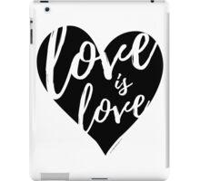 Love is Love iPad Case/Skin