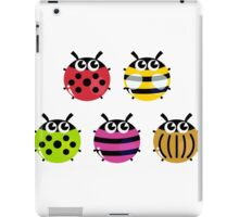 Various bugs collection. Vector cartoon Illustration iPad Case/Skin