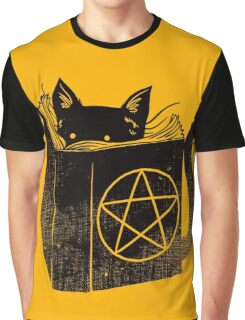 witchcraft cat Graphic T-Shirt