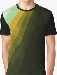 Stratum 4 Green Graphic T-Shirt