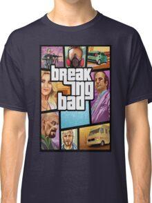 Grand theft auto breaking bad walter white jesse pinkman Classic T-Shirt