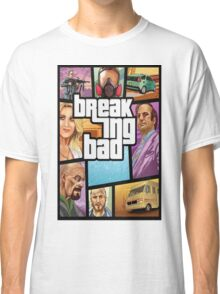 Grand theft auto breaking bad walter white jesse pinkman Classic T-Shirt