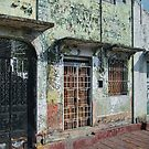 Decaying Elegance in Puerto Chiapas, Mexico by Gerda Grice