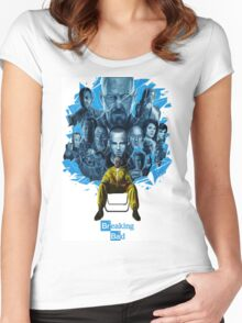 breaking bad walter white Women's Fitted Scoop T-Shirt