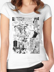 My Manga-reading Journey Women's Fitted Scoop T-Shirt