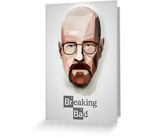 Breaking bad walter white Greeting Card