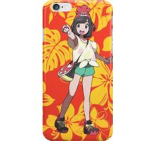 Pokémon Sun and Pokémon Moon - Trainer (Female) iPhone Case/Skin