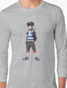 Pokémon Sun and Pokémon Moon - Trainer (Male) Long Sleeve T-Shirt