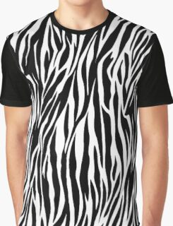 Zebra Print Graphic T-Shirt
